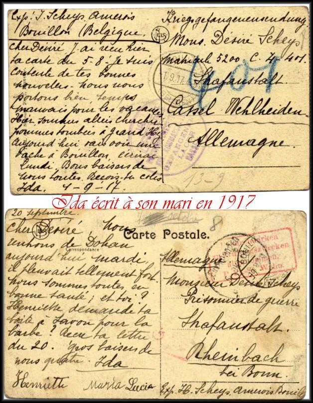 site 022 ida écrit à son mari en 1917