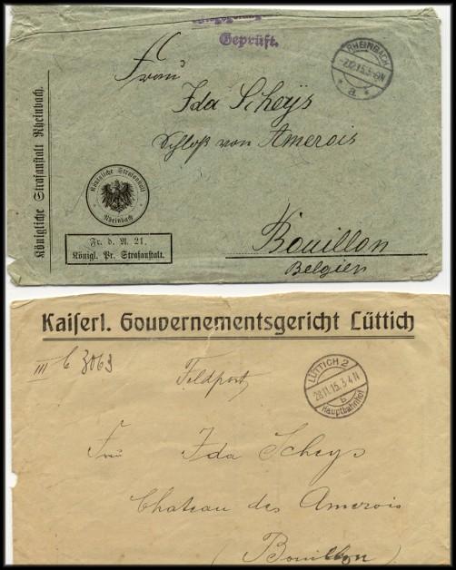 site 049 enveloppes allemandes