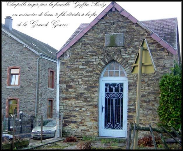 site Chapelle de Dohan  de la Famille Goffin-Body 2007