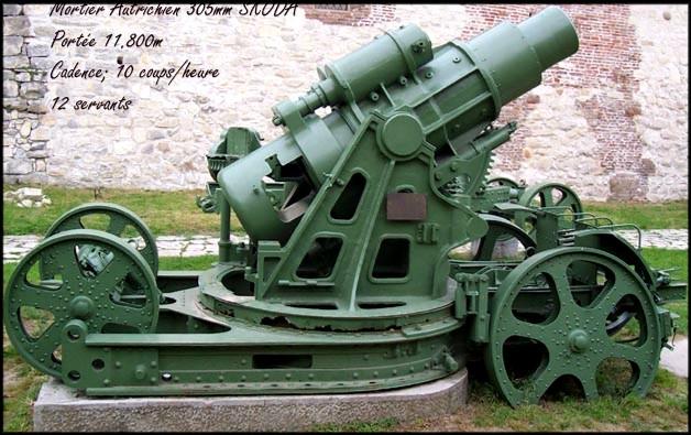 site  Skoda305mm restauré actuel