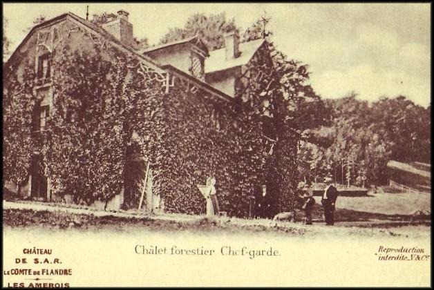 site amerois chalet forestier chef garde