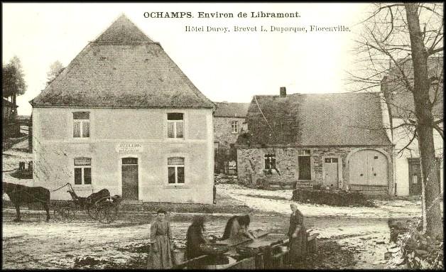 site be ochamps les laveuses et calèche 1905