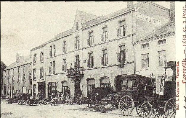 site florenville hôtel de la poste 3 voitures