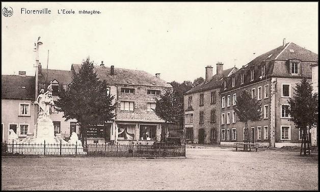 site florenville monument et l'école ménagère