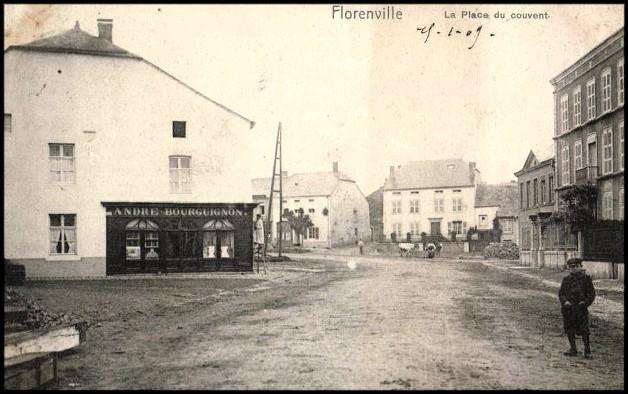 site florenville place du couvent 1909