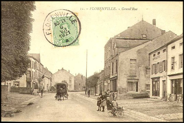 site florenville postée en 1921 grd rue