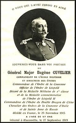 site  gén maj Eugène Cuvelier faire-part