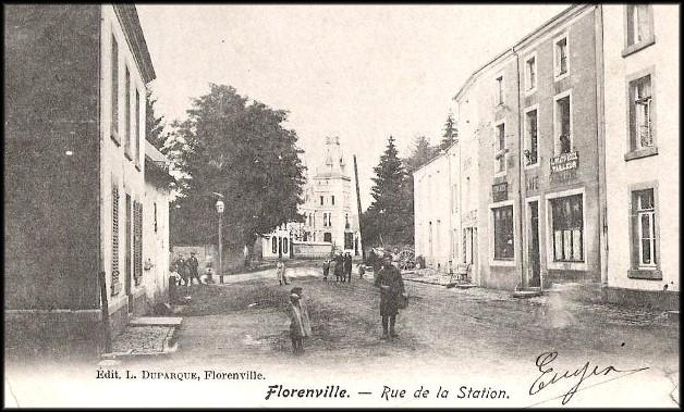 site   gosses à florenville vers la gare
