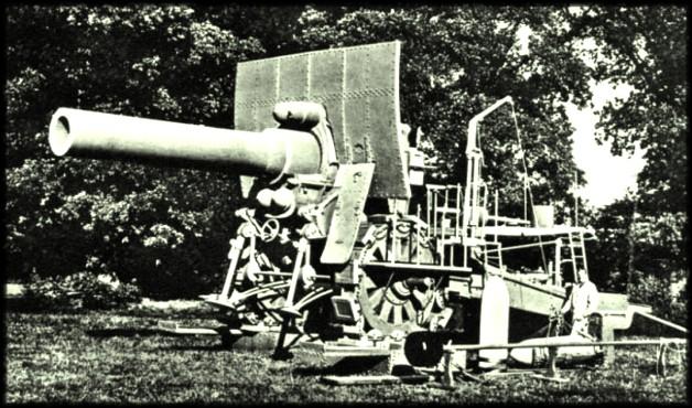 site grosse bertha 420 mm portée 14 km
