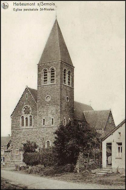 site herbeumont église paroissiale st nicolas