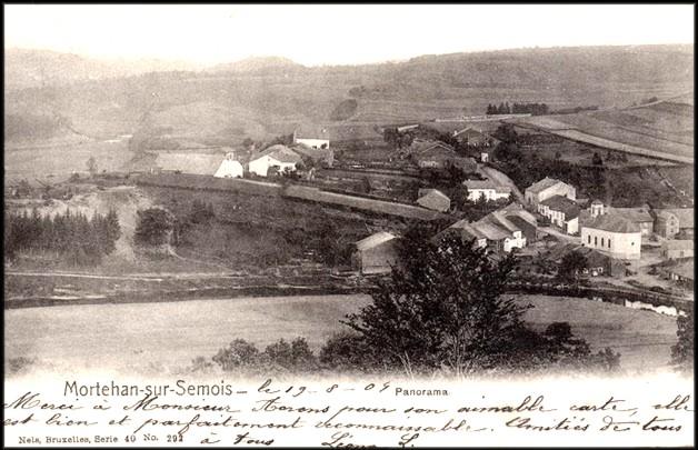 site mortehan 1904 panorama 10 ans avant la guerre