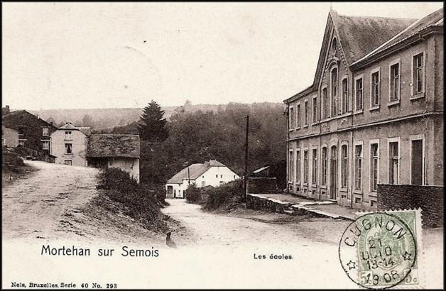 site mortehan l'école 1908