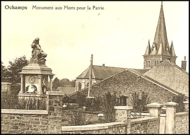 site ochamps le monument aux morts après la seconde guerre mondiale
