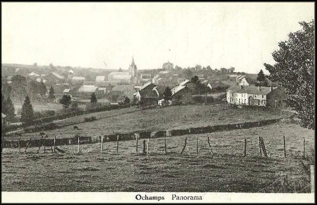 site village d' ochamps panorama clocher