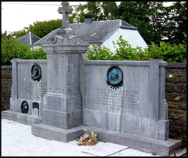 site ws sépulture famille Cuvelier florenville