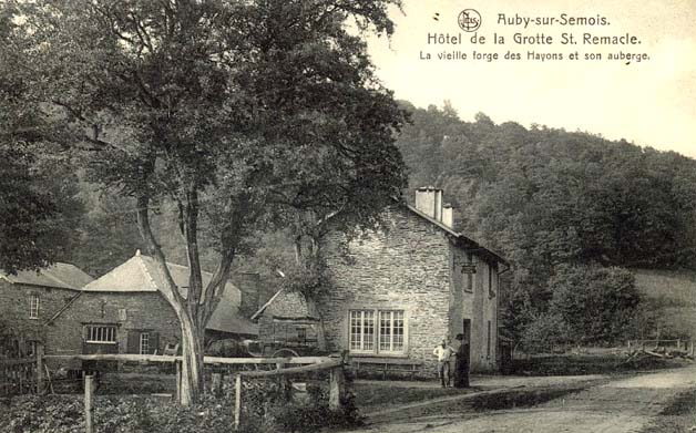 ws Auby Forges du Maka et son Auberge 1914 recto