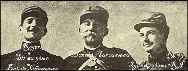 site colonel aurousseau et ses 2 fils