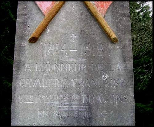 site  monument en l'honneur 9e dragons français