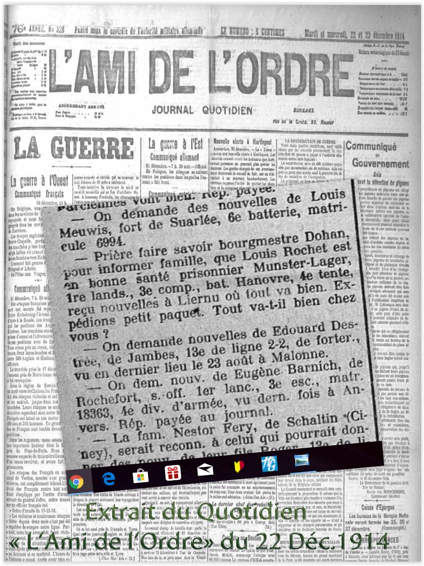 extrait ami de l'ordre 22 12 1914