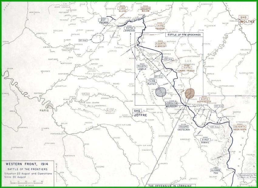 site carte des opérations du 22 aout 14