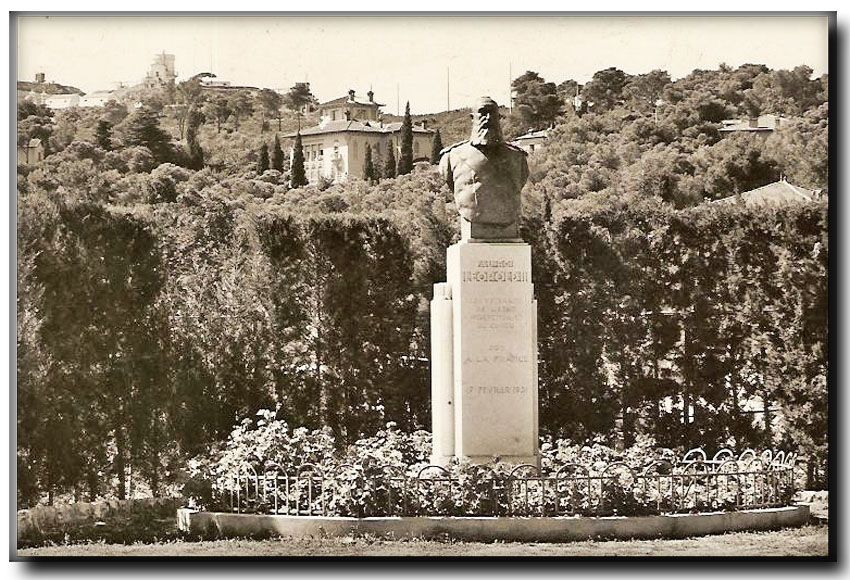 site me fr st jean cap ferrat statue léopold II