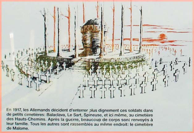 site so be montplainchamps dessin  mausolé allem