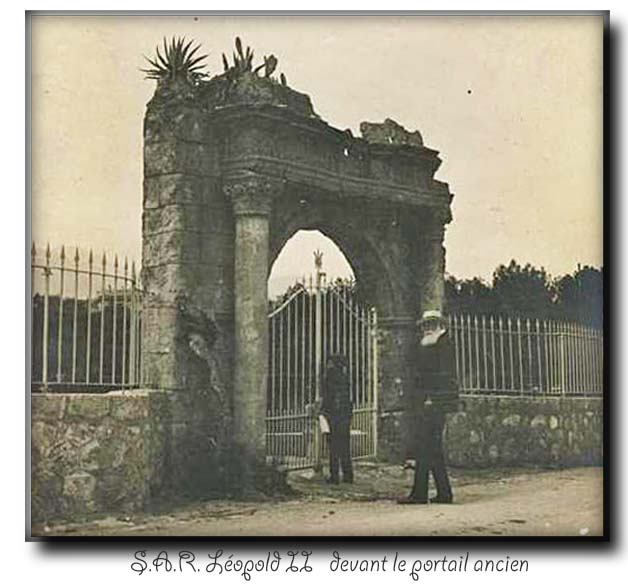 site so fr cap ferrat leopold II deavant portail ancien