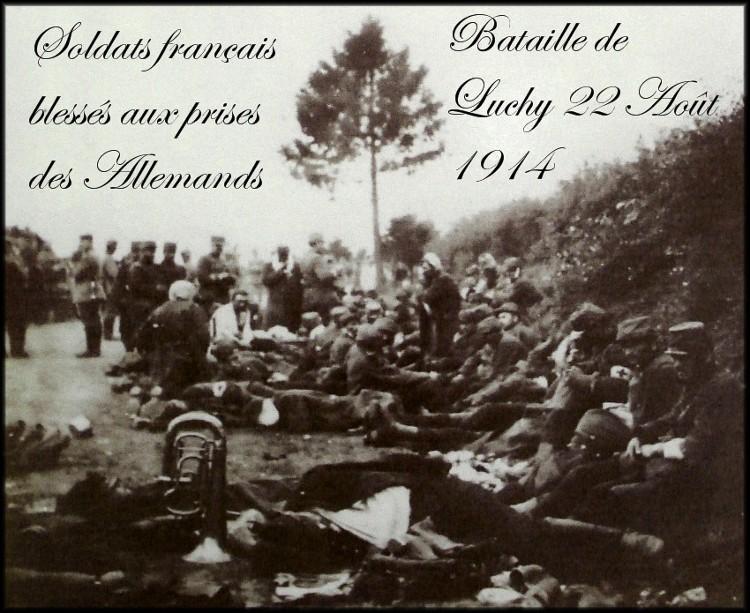 site5 Bataille de la forêt de Luchy près de Bertrix