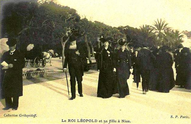 ws be roi léopold et sa fille à Nice