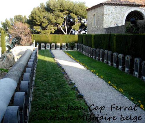 ws cap ferrat cimetière militaire belge 14-18
