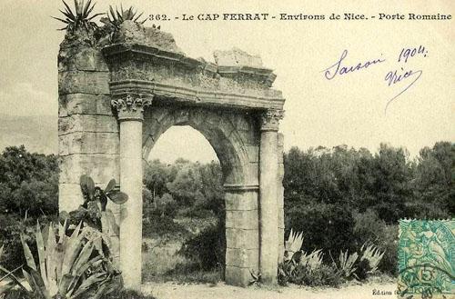 ws cap ferrat porte romaine 1904