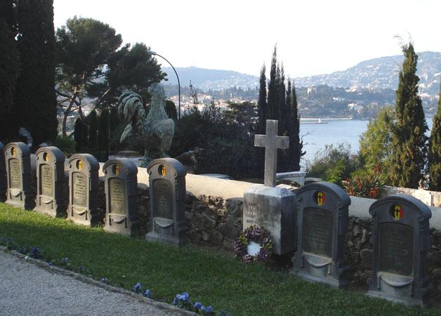 ws cimetière belge face à la mer méditerranée