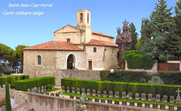 ws fr cap ferrat cimetière belge et chapelle image actuelle