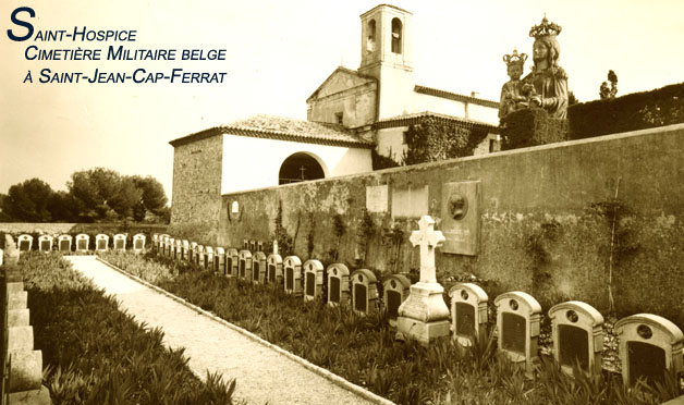ws fr cap ferrat ,le cimetière belge à Saint-hospice