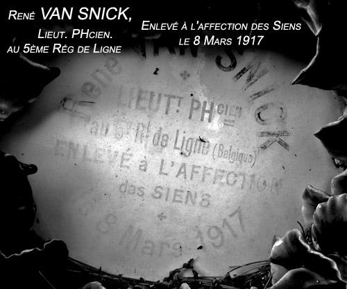 ws rené van snick lt pharmacien 8 mars 1917 color