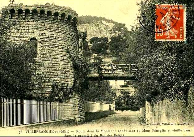 ws ville-franche sur mer vieille tour dans la propriété du roi des belges