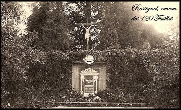site 30 rossignol caveau 1920