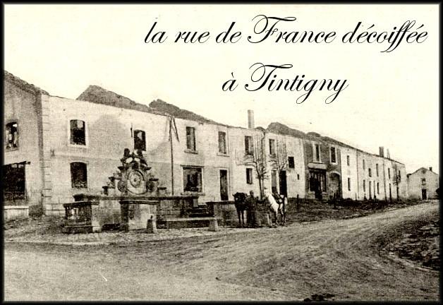 site Tintigny ,rue de france décoiffée
