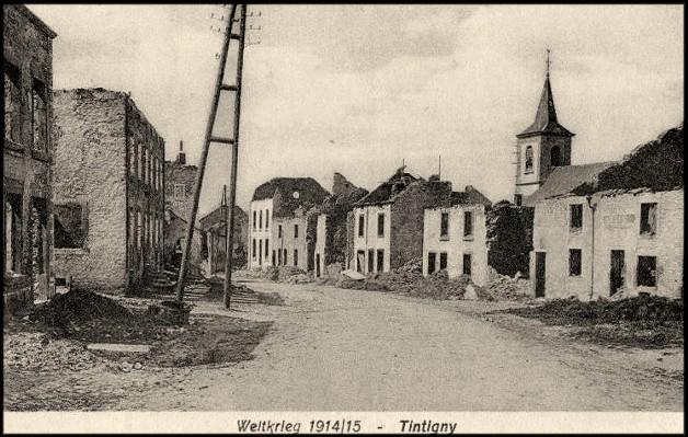 site tintigny 1915 feldpost