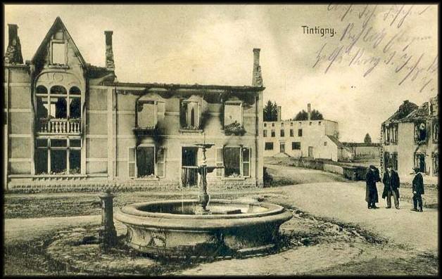 site tristesse autour de la fontaine tintigny écrite allemande