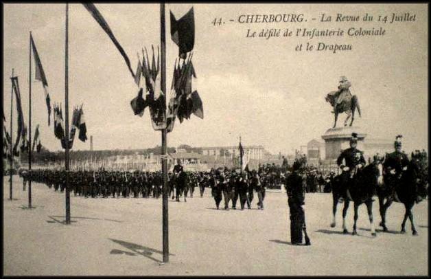 site 1er colonial régiment et drapeau