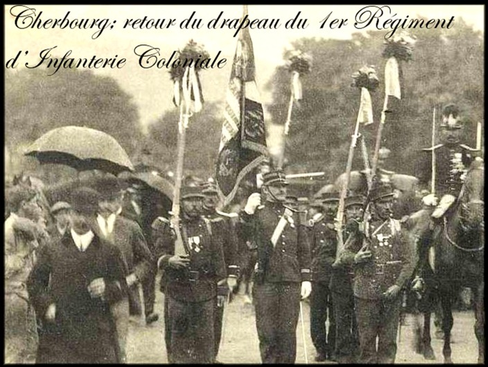 site 1er colonial retour drapeau