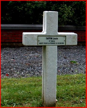site croix de taffin au cimetière belle motte