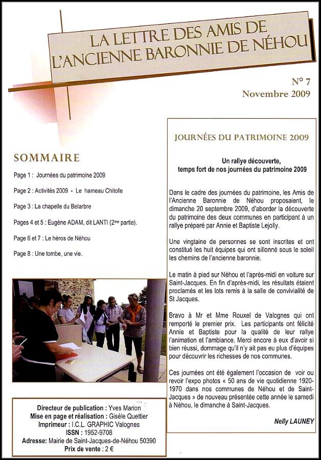 site le Bulletin Néhou  p.1