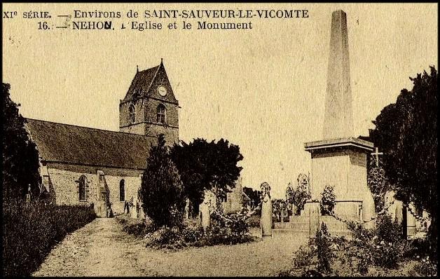 site  néhou 50 église et monument
