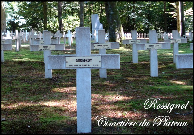 site rossignol cimetière plateau Godefroy
