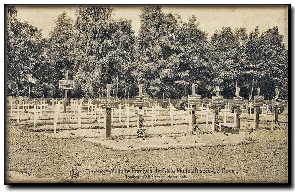 site so be aiseau belle motte cimetière