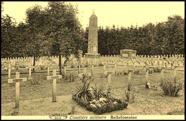 SITE BELLEFONTAINE cimetière militaire