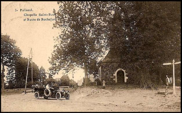 site paliseul rte de rochefort et chapelle st roch
