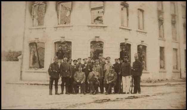 site longlier soldats allemands 1914